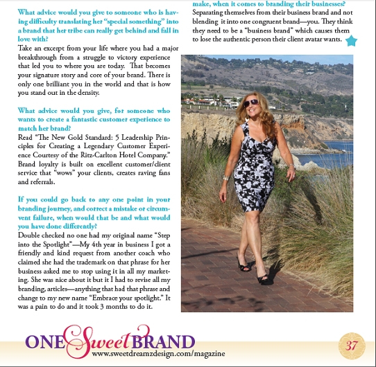 One Sweet Brand magazine2