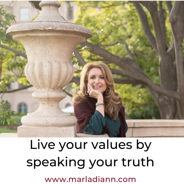 A sure sign you are living your values