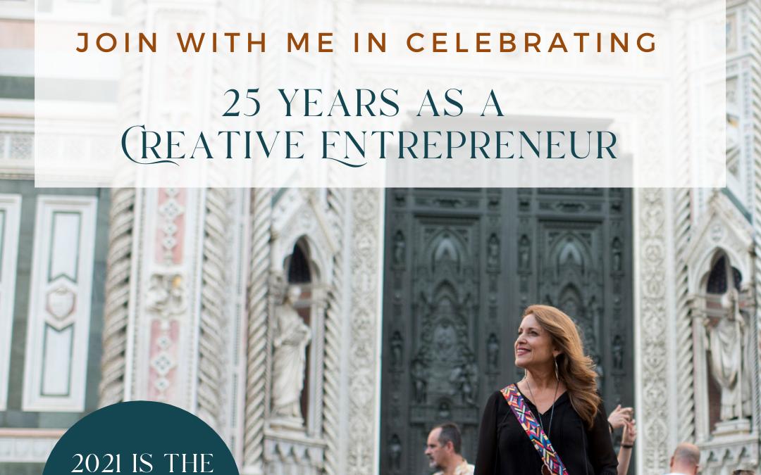 25 Years as a Creative Entrepreneur