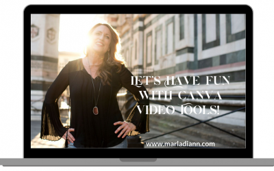 Smile, you are on CANVA video! Recording & editing tools